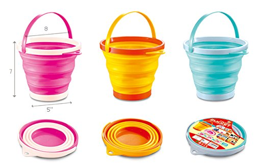 pail buckets that fold