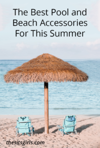 Beach and pool accessories are a MUST for the sunny summer days. These are some of the best Pool and Beach Accessories must haves you'll need for the summer