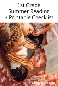 1st Grade Books | Summer Reading + Printable Checklist
