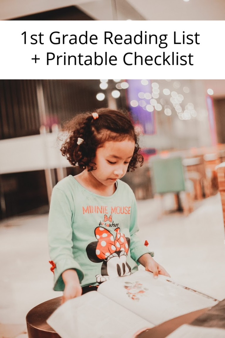 1st Grade Books | 1st Grade Reading List + Printable Checklist