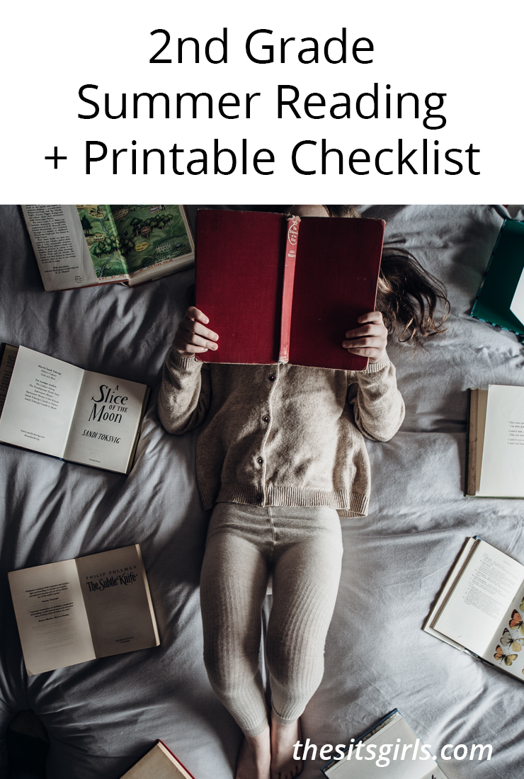 2nd Grade Books | Summer Reading + Printable Checklist