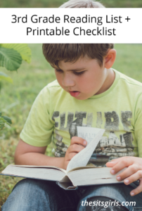 3rd Grade Books | 3rd Grade Reading List + Printable Checklist