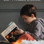 Kindergarten Books | Kindergarten Reading List + Printable Checklist