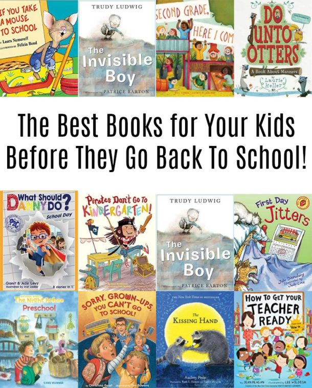 Get kids ready to start a new school year with these kids books that are perfect for back to school!