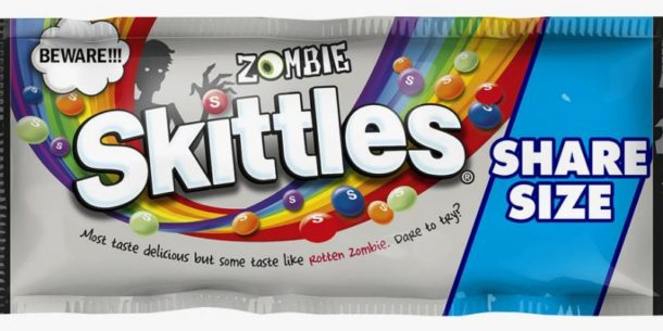 Halloween is right around the corner, and that means Each year there are some major new twists, and this year is no different. Introducing Zombie Skittles!