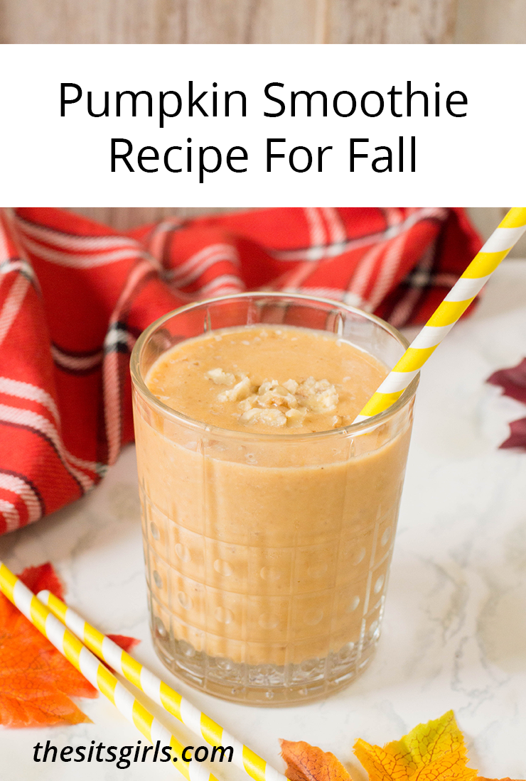 This Pumpkin Smoothie recipe is perfect for fall and tastes incredible too. It uses several tastes of the season and can be made fast and fresh for your day!