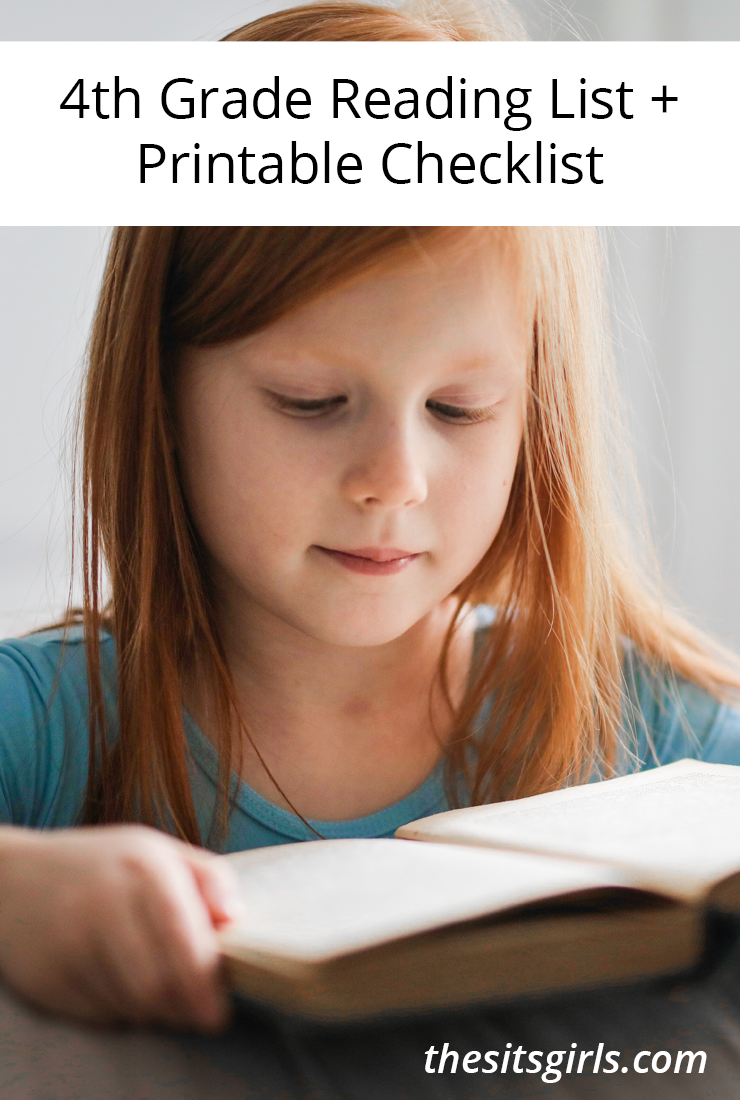 4th Grade Books | 4th Grade Reading List + Printable Checklist