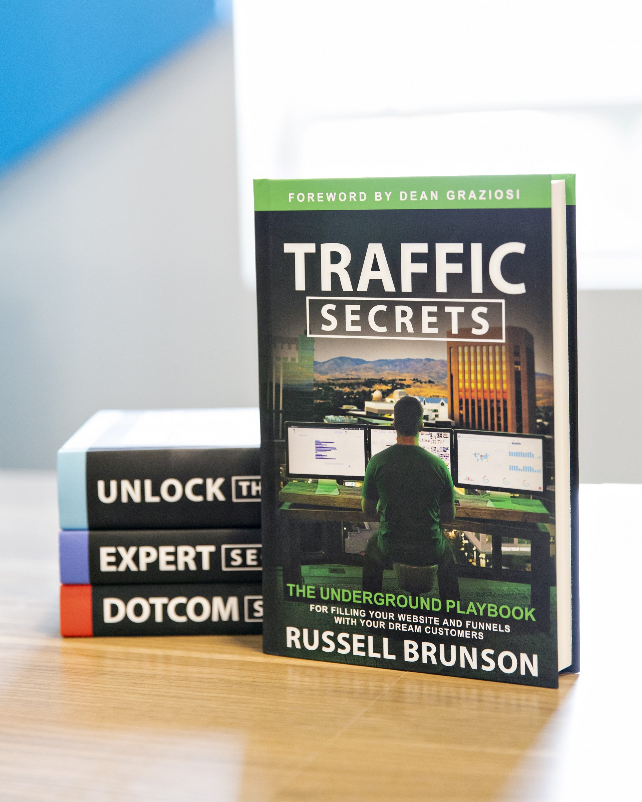 traffic secrets and other books by russell brunson