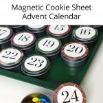 Magnetic Ookie Sheet Advent Calendar