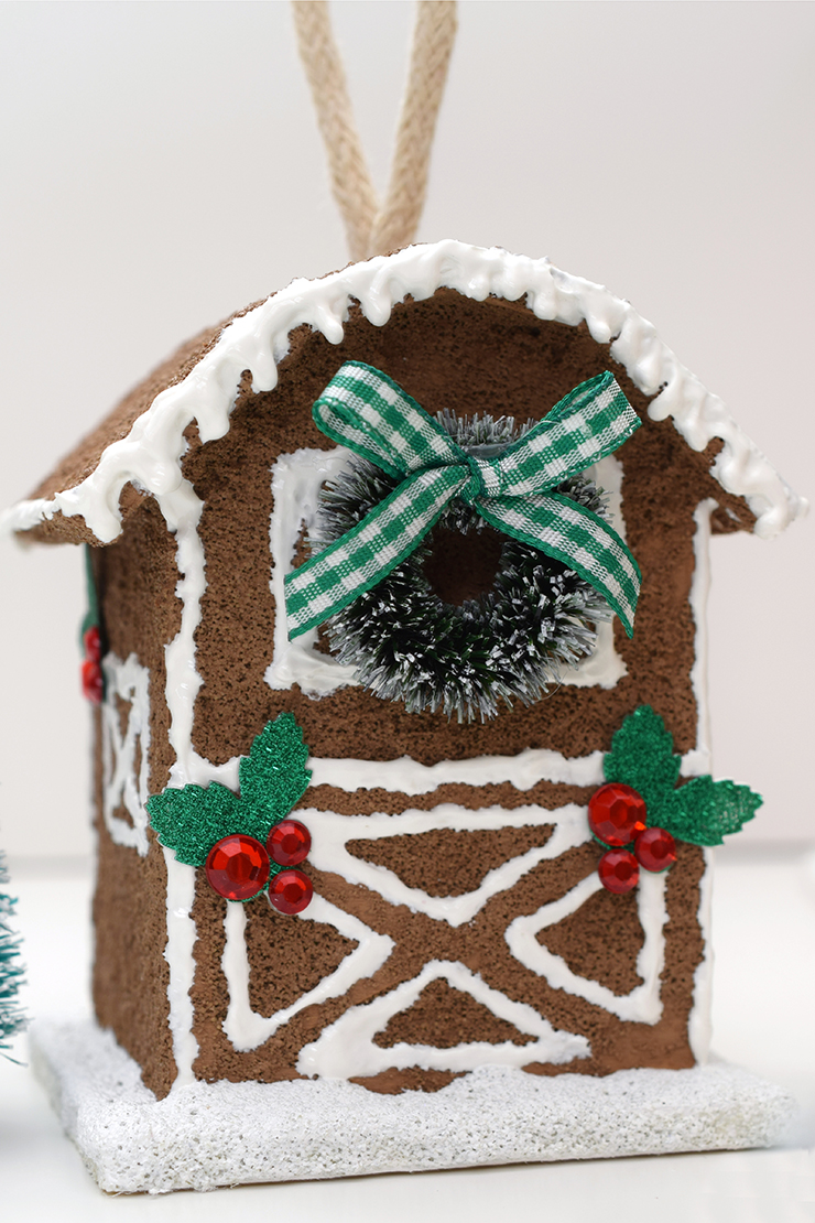 birdhouse ginger bread house