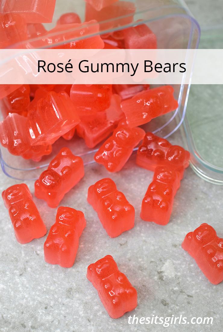 Rosé Gummy Bears.