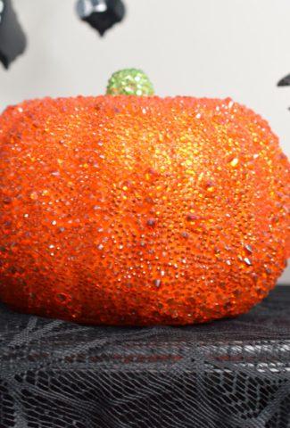 rhinestone pumpkin